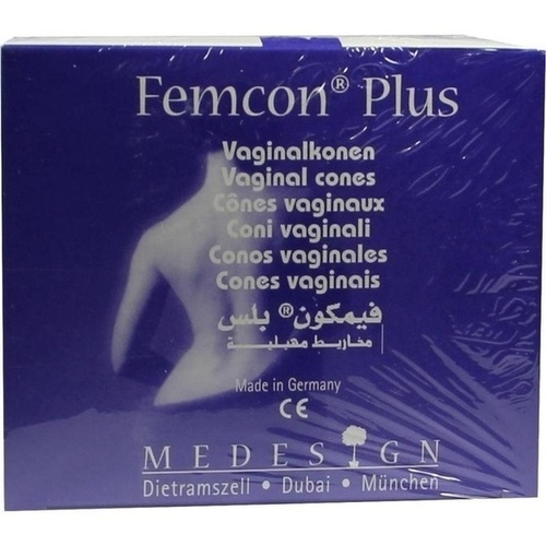 Femcon Plus-Vaginalkonen Set, 1 P, Medesign I. C. GmbH