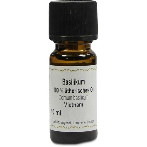 Basilikum 100% Ätherisches Öl, 10 ML, Apotheker Bauer & Cie.