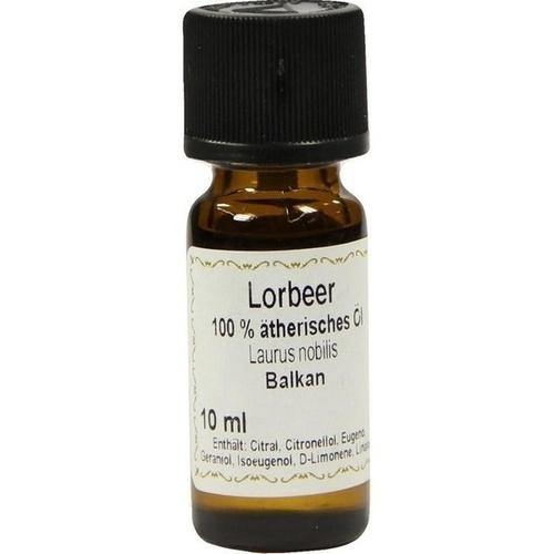 Lorbeer (äther.) 100% Ätherisches Öl, 10 ML, Apotheker Bauer & Cie.