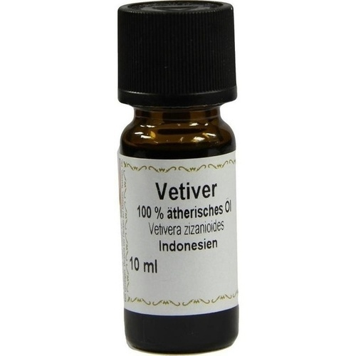 Vetiver 100% Ätherisches Öl, 10 ML, Apotheker Bauer & Cie.