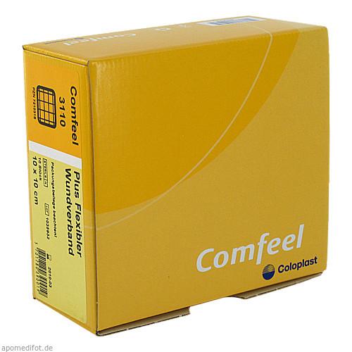 COMFEEL Plus flexibler Wundverb.10x10 cm 3110, 10 ST, Coloplast GmbH