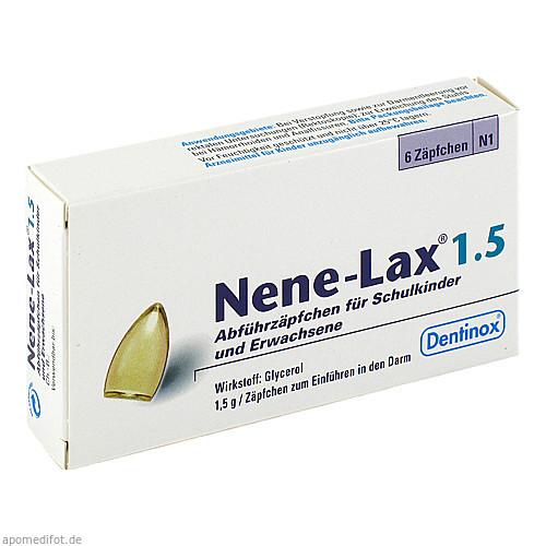 NENE LAX 1.5 SCHULKINDER UND ERWACHSENE, 6 ST, Dentinox Lenk & Schuppan KG