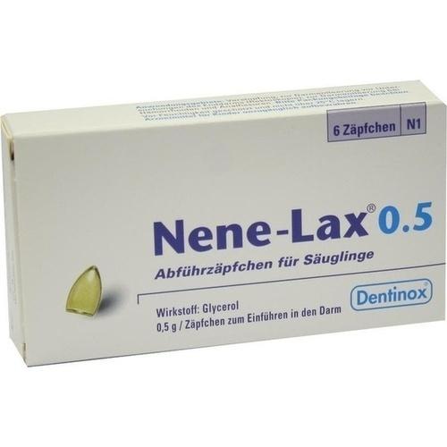 NENE LAX 0.5 SAEUGLINGE, 6 ST, Dentinox Lenk & Schuppan KG