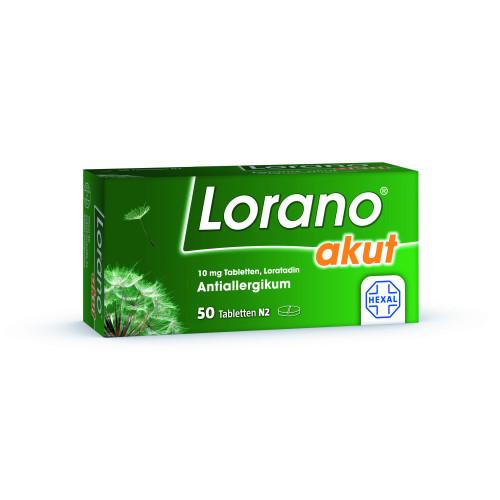 Lorano akut, 50 ST, HEXAL AG