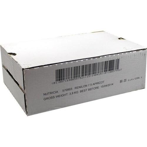 Renilon 7.5. Aprikosengeschmack, 6X4X125 ML, Nutricia GmbH