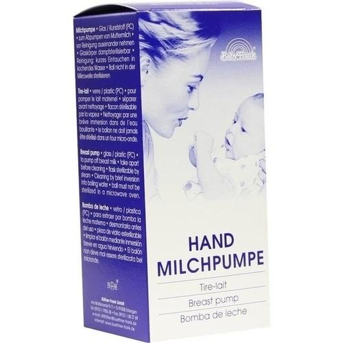 HAND MILCHPUMPE UNZERBRECHLICH, 1 ST, Büttner-Frank GmbH
