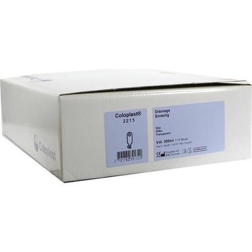 COLOPLAST DRAINAGE 2215, 10 ST, Coloplast GmbH