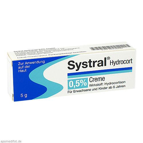 Systral Hydrocort 0.5% Creme, 5 G, MEDA Pharma GmbH & Co.KG