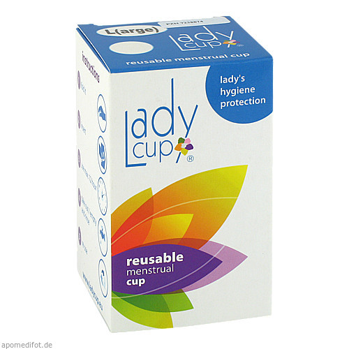 LADYCUP L(arge)-Menstruatiostasse gross, 1 ST, Kessel Medintim GmbH