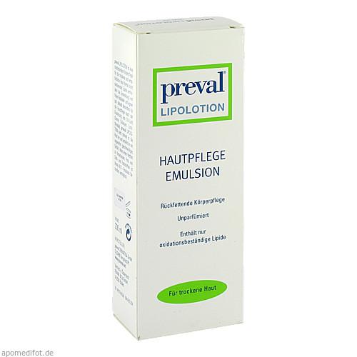 PREVAL LIPOLOTION, 200 ML, Preval Dermatica GmbH