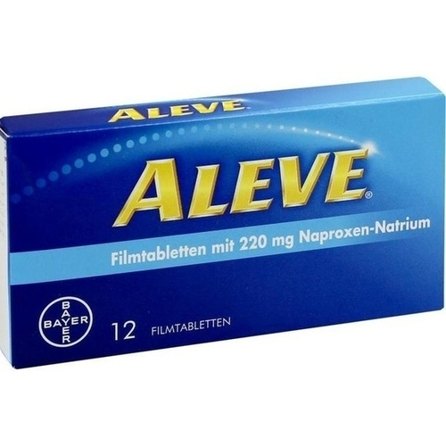 Aleve Filmtabletten, 12 ST, Bayer Vital GmbH