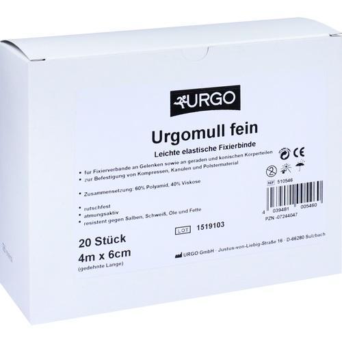 Urgomull fein 4mx6cm, 20 ST, Urgo GmbH