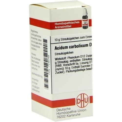 ACIDUM CARBOLICUM D12, 10 G, Dhu-Arzneimittel GmbH & Co. KG