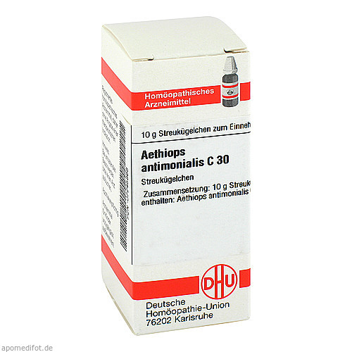 AETHIOPS ANTIMON C30, 10 G, Dhu-Arzneimittel GmbH & Co. KG