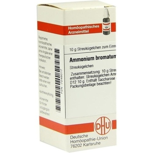 AMMONIUM BROMATUM D12, 10 G, Dhu-Arzneimittel GmbH & Co. KG