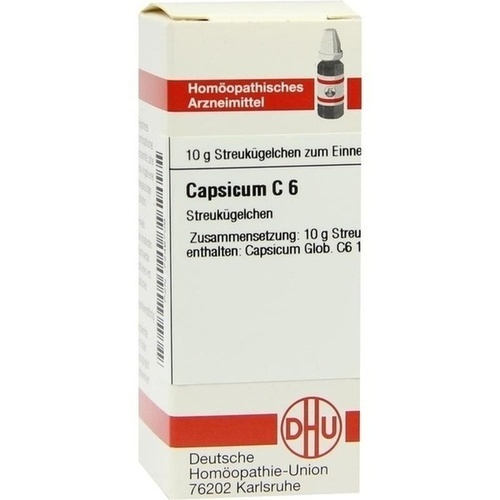 CAPSICUM C 6, 10 G, Dhu-Arzneimittel GmbH & Co. KG