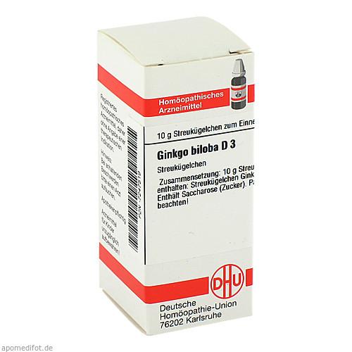 GINKGO BILOBA D 3, 10 G, Dhu-Arzneimittel GmbH & Co. KG
