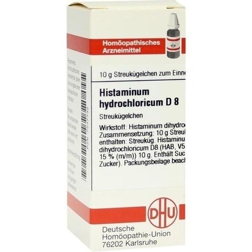 HISTAMINUM HYDROCHLOR D 8, 10 G, Dhu-Arzneimittel GmbH & Co. KG