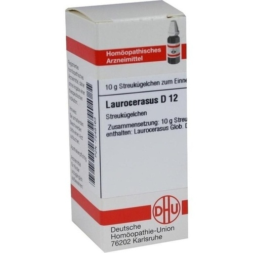 LAUROCERASUS D12, 10 G, Dhu-Arzneimittel GmbH & Co. KG