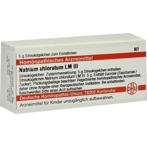 LM NATRIUM CHLORATUM III, 5 G, Dhu-Arzneimittel GmbH & Co. KG