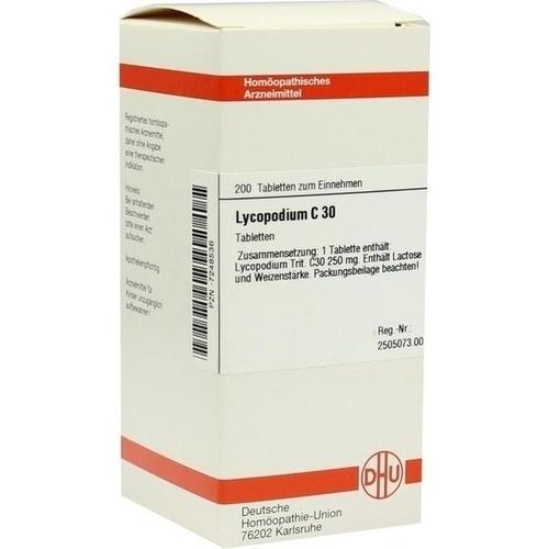 LYCOPODIUM C30, 200 ST, Dhu-Arzneimittel GmbH & Co. KG
