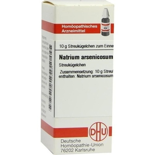 NATRIUM ARSENICOSUM D12, 10 G, Dhu-Arzneimittel GmbH & Co. KG