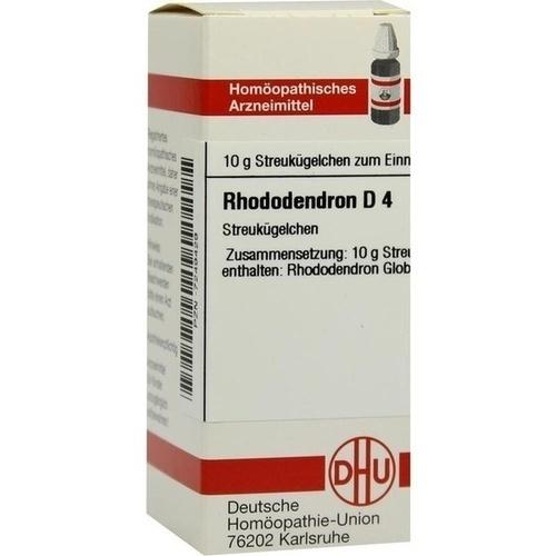 RHODODENDRON D 4, 10 G, Dhu-Arzneimittel GmbH & Co. KG
