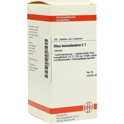RHUS TOXICODENDRON C 7, 200 ST, Dhu-Arzneimittel GmbH & Co. KG