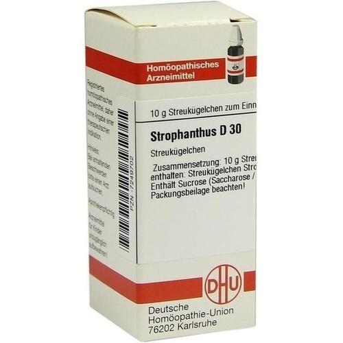 STROPHANTHUS D30, 10 G, Dhu-Arzneimittel GmbH & Co. KG