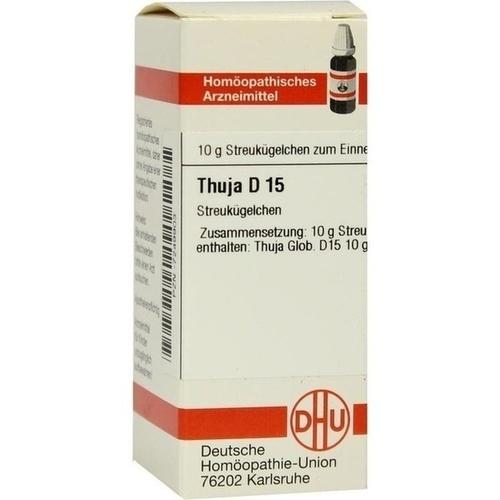THUJA D15, 10 G, Dhu-Arzneimittel GmbH & Co. KG