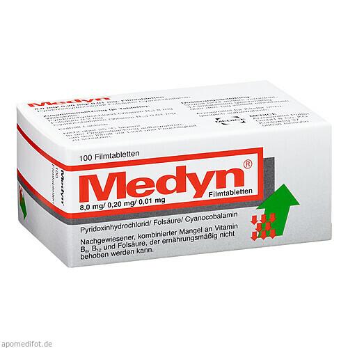 Medyn, 100 ST, Medice Arzneimittel Pütter GmbH & Co. KG