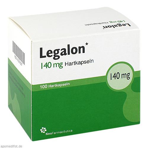 Legalon 140, 100 ST, kohlpharma GmbH