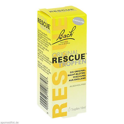 Bach Original Rescue Tropfen alkoholfrei, 10 ML, Nelsons GmbH