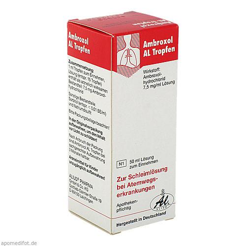 AMBROXOL AL TROPFEN, 50 ML, Aliud Pharma GmbH