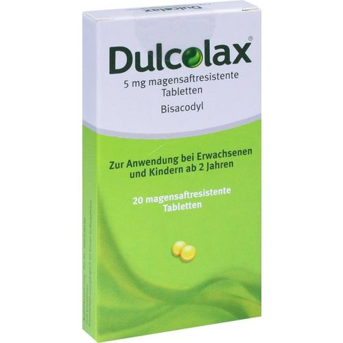 Dulcolax Dragees magensaftresistente Tabletten, 20 ST, Pharma Gerke Arzneimittelvertriebs GmbH