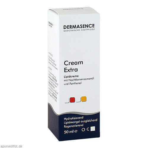 DERMASENCE Cream extra, 50 ML, P&M COSMETICS GmbH & Co. KG