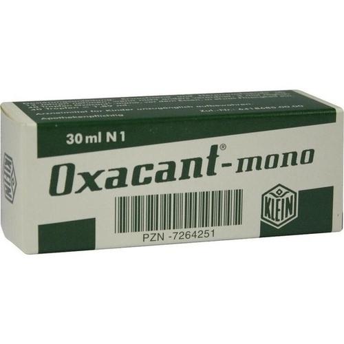 OXACANT-mono, 30 ML, Dr. Gustav Klein GmbH & Co. KG