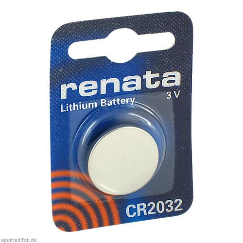 Renata Lithiumbatterie CR2032 MFR, 1 ST, The Swatch Group (Deutschland) GmbH