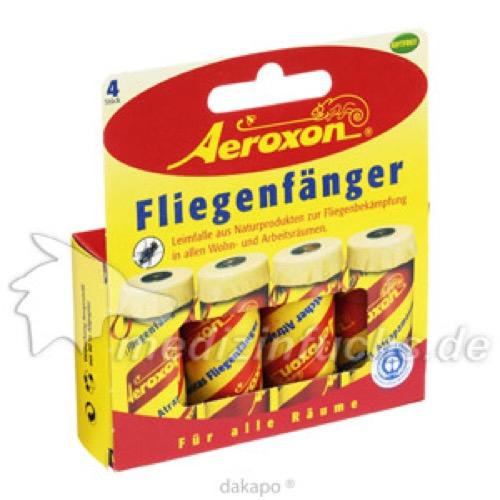 Aeroxon Fliegenfaenger, 4 ST, Aeroxon Insect Control GmbH