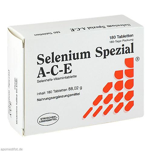 Selenium Spezial A-C-E, 180 ST, Stroschein Gesundkost Ammersbek GmbH