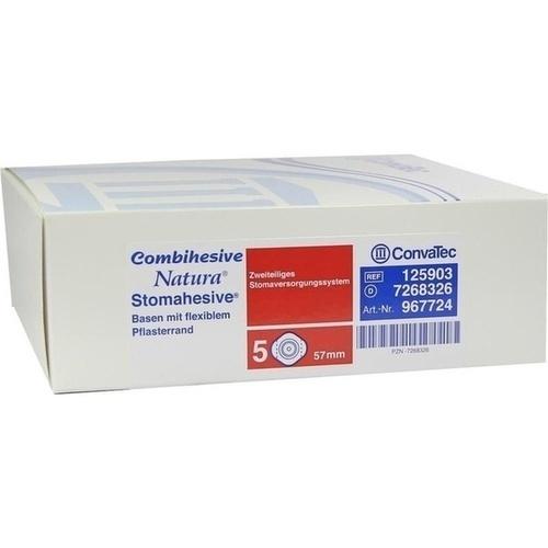 COMBIHESIVE NATURA BASISPLATTE 57MM 967724, 5 ST, Convatec (Germany) GmbH