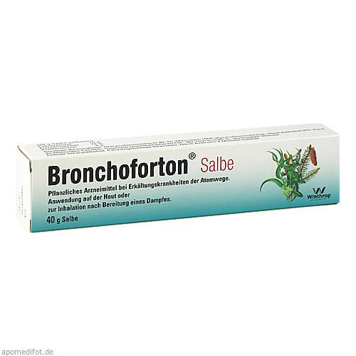 Bronchoforton Salbe, 40 G, Sanofi-Aventis Deutschland GmbH GB Selbstmedikation /Consumer-Care