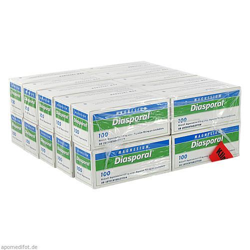 MAGNESIUM DIASPORAL 100 Lutschtabletten, 1000 ST, Protina Pharmazeutische GmbH