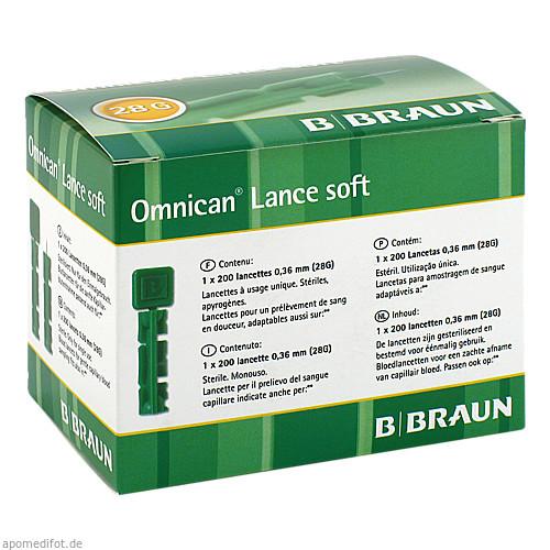 OMNICAN LANCE SOFT LANZETTEN, 200 ST, B. Braun Melsungen AG