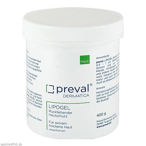 PREVAL LIPOGEL, 400 G, Preval Dermatica GmbH
