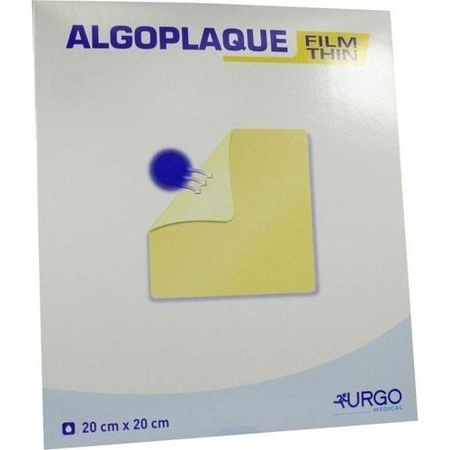 ALGOPLAQUE FILM 20X20CM dünner Hydrokolloidverband, 5 ST, Urgo GmbH