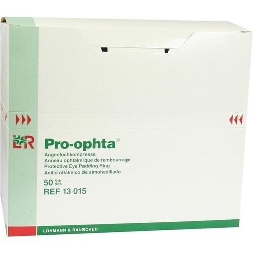 Pro-ophta Augenlochkompresse unsteril, 50 ST, Lohmann & Rauscher GmbH & Co. KG