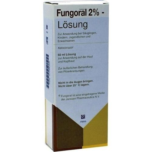 Fungoral 2% Lösung, 60 ML, kohlpharma GmbH