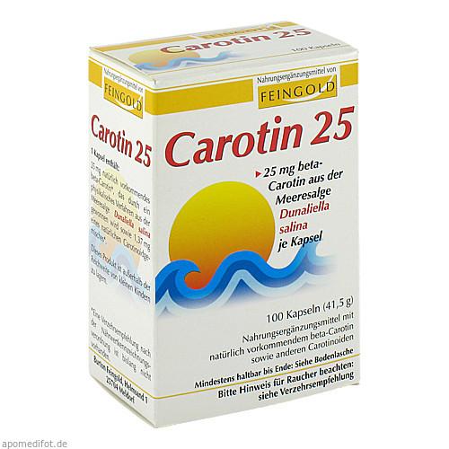 CAROTIN 25 Feingold, 100 ST, Burton Feingold