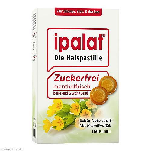 Ipalat Halspastillen zuckerfrei, 160 ST, Dr.R.Pfleger GmbH